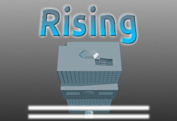The splash screen of rising